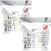 Image of Diet Whey Strawberry Delight 1kg Twinpack