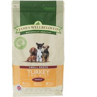 James Wellbeloved Adult Small Breed Kibble Turkey and Rice