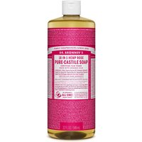 Dr Bronner Rose Castile Liquid Soap