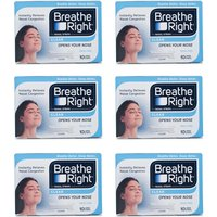 Breathe Right Nasal Strips Clear Large - 60 Strips