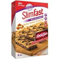 SlimFast Nutty Salted Caramel 4 Bars