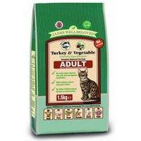 James Wellbeloved Kibble Adult Cat Turkey Cereal Free