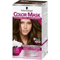 Schwarzkopf Colour Mask 550 Golden Brown Hair Dye