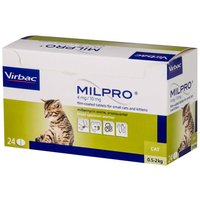 Milpro For Cats (small cats/kittens 4mg) 24 Tablets