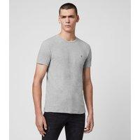 AllSaints Men's Cotton Regular Fit Tonic Crew T-Shirt, Grey, Size: XL