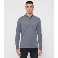 AllSaints Grail Long Sleeve Polo Shirt