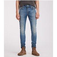 AllSaints Ione Cigarette Skinny Jeans, Indigo