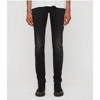 AllSaints Rex Slim Jeans, Dark Grey