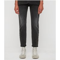 AllSaints Carter Straight Jeans, Washed Black
