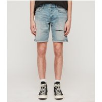 AllSaints Switch Damaged Denim Shorts