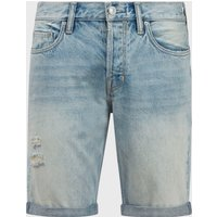 AllSaints Switch Damaged Denim Shorts
