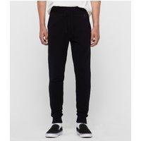 AllSaints Mens Navy Blue Cotton Comfortable Raven Sweatpants, Size: XS