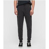 AllSaints Mens Charcoal Grey Cotton Comfortable Raven Sweatpants, Size: XL