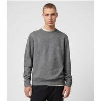 AllSaints Men's Regular Fit Jonah Crew Sweatshirt, Grey, Size: XS