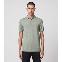 AllSaints Mode Merino Short Sleeve Polo Shirt