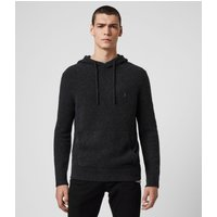 AllSaints Men's Cotton Tolnar Hoodie, Black, Size: XXL