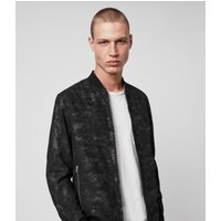 AllSaints Kirk Leather Bomber Jacket