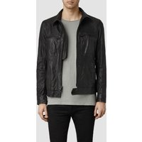 AllSaints Track Leather Jkt