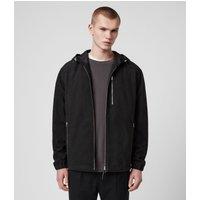 AllSaints Mell Showerproof Leather Jacket