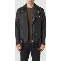 AllSaints Boyson Leather Biker Jacket
