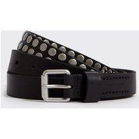 AllSaints Horricks Leather Belt