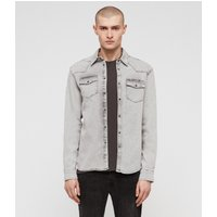 AllSaints Gilard Denim Shirt