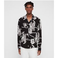 AllSaints Kumu Long Sleeve Shirt