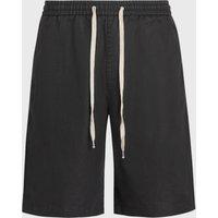 AllSaints Adra Linen Blend Shorts