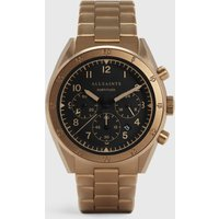 AllSaints Men's Stainless Steel Subtitled VI Khaki Watch, Bronze