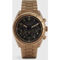 AllSaints Men's Stainless Steel Subtitled VI Khaki Watch, Bronze