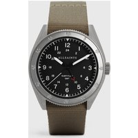 AllSaints Men's Subtitled GMT II Stainless Steel Watch, Grey