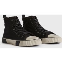 AllSaints Rigg Stamp High Top Trainers