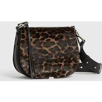 AllSaints Kim Round Leather Crossbody Bag