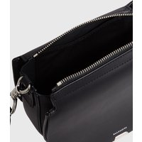 AllSaints Darcy Small Round Leather Crossbody Bag