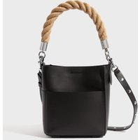 AllSaints Harri Leather Mini North South Tote Bag