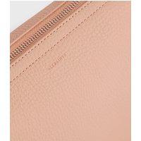 AllSaints Women's Lightweight Mori Lea Leather Crossbody Bag, Pink