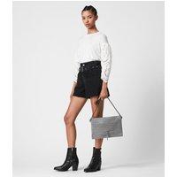 AllSaints Sheringham Suede Shoulder Bag