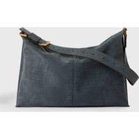 AllSaints Edbury Suede Shoulder Bag