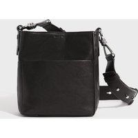 AllSaints Tower Leather Crossbody Bag