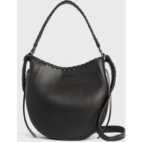 AllSaints Courtney Leather Hobo Bag