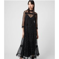 AllSaints Nima Embellished Dress