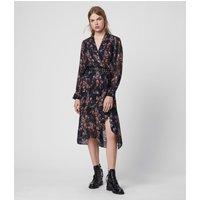 AllSaints Valero Flutter Dress