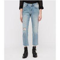 AllSaints Ava Stud Straight Jeans