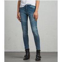 AllSaints Biker Ankle Skinny Jeans