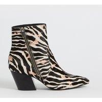 AllSaints Aster Zebra Boot