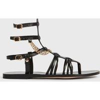 AllSaints Gelda Leather Sandals