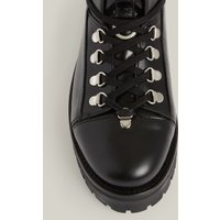 AllSaints Women's Leather Franka Boot, Black, Size: UK 7/US 9/EU 40
