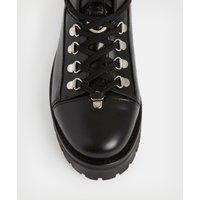 AllSaints Women's Leather Franka Boot, Black, Size: UK 6/US 8/EU 39