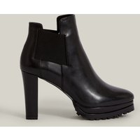AllSaints Women's Leather Essential Sarris Boot, Black, Size: UK 6/US 8/EU 39