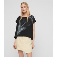 AllSaints Os Feather Pina T-Shirt